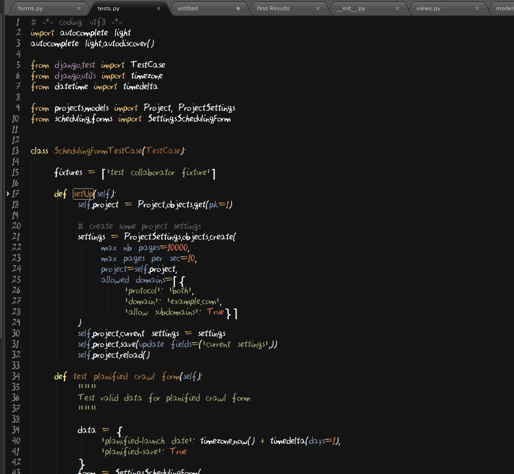 custom font on sublimetext